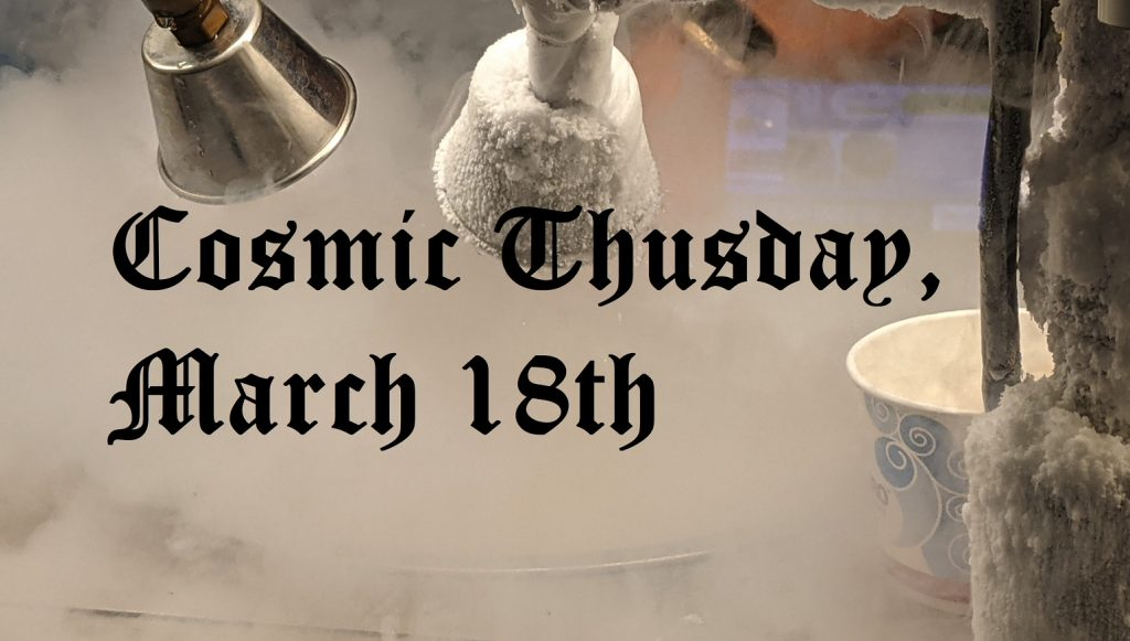 cosmic thursday march 18
